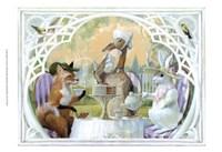 Rabbit's Tea Party Fine-Art Print
