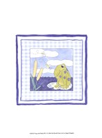 Frog with Plaid (PP) I Fine-Art Print