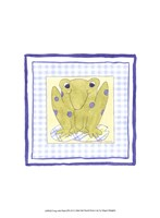 Frog with Plaid (PP) III Fine-Art Print