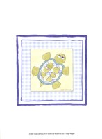 Turtle with Plaid (PP) IV Fine-Art Print