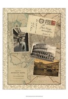 Post Cards from Rome Fine-Art Print