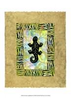 Ancient Amphibians II Fine-Art Print