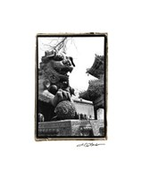 Imperial Lion, Beijing Giclee