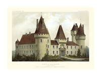 French Chateaux I Giclee