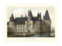 French Chateaux II Giclee