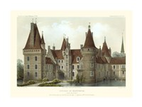 French Chateaux IV Giclee