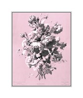 Roses on Pink Giclee