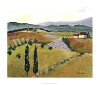 Daydreams in Tuscany I Giclee