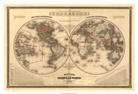 Johnsons Globular World Giclee