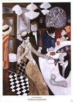 Cafe Metropol Fine-Art Print