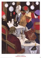 Dinner at Lhardy's Fine-Art Print