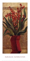 Red Baby Orchids Fine-Art Print