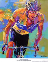 Lance Armstrong - 7X Tour de France Champion Fine-Art Print