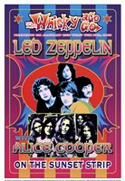 Led Zeppelin, Alice Cooper Fine-Art Print
