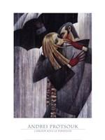 LAmour sous le Parapluie Fine-Art Print