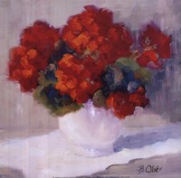 Red Geraniums Fine-Art Print