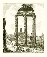 Views Of Rome (Portrait) B&W Fine-Art Print