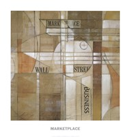 Marketplace Fine-Art Print