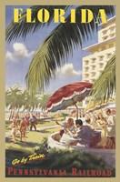 Florida Go by Train Fine-Art Print