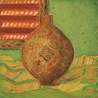 Pot oriental dor Fine-Art Print