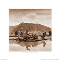 Fountain Study - Villa Olmo, Italy Fine-Art Print