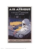 Air Afrique Fine-Art Print
