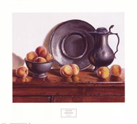 Peaches & Pewter Fine-Art Print