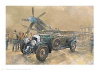 Bentley and Spitfire Fine-Art Print
