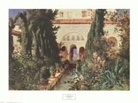 Der Garten des Generalife Bei Graneda Fine-Art Print