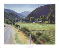 Harvest-Brush Creek Canyon Fine-Art Print