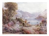 Villa Melzie, Como, Italy Fine-Art Print