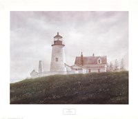 Fog at Pemaquid Fine-Art Print