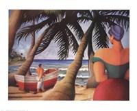 West Indies Beach Fine-Art Print