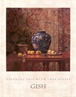 Oriental Vase with Crab Apples Fine-Art Print