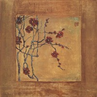 Chinese Blossoms I Fine-Art Print