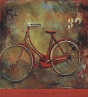 My Old Red Bike Fine-Art Print