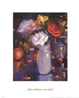 Rose Table Fine-Art Print