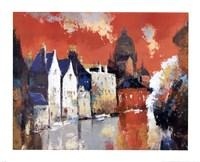 Orange Sky Fine-Art Print