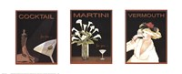 Cocktail Trilogy Fine-Art Print