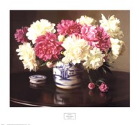 Peonies in Ginger Jar Fine-Art Print