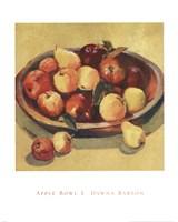 Apple Bowl I Fine-Art Print