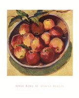 Apple Bowl II Fine-Art Print