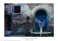 Blue Alcove, Orvieto, Italy Fine-Art Print