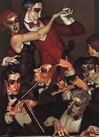 Tango Red Tie Fine-Art Print