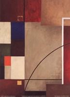 Red Squares I Fine-Art Print