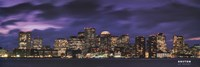 Boston at Dusk Fine-Art Print