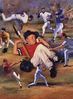 Little Leaguer Fine-Art Print