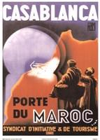 Casablanca Porte du Maroc Fine-Art Print
