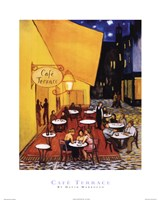 Cafe Terrace Fine-Art Print
