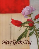 New York Floral Views Fine-Art Print